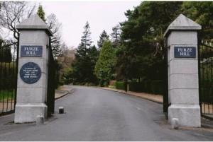 Furze Hill gates